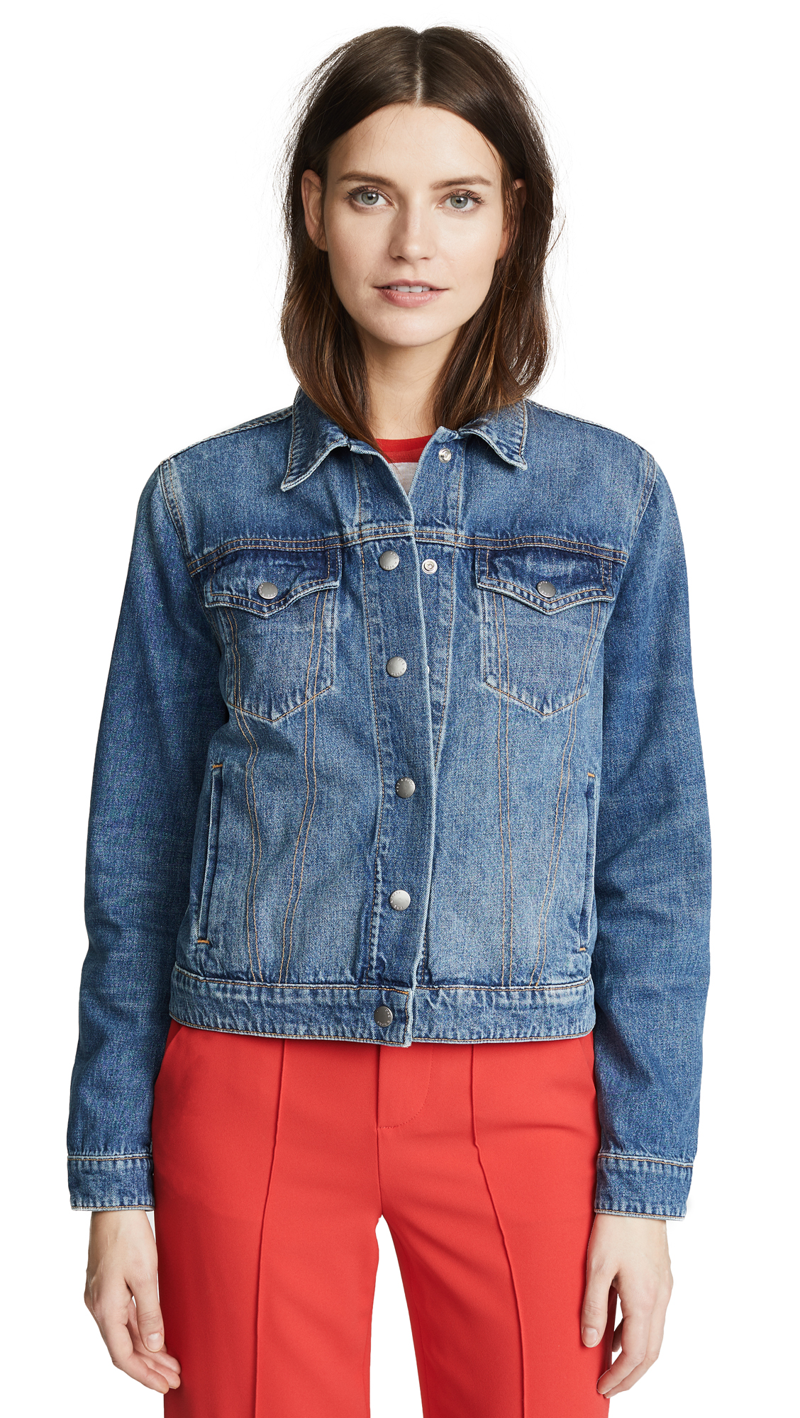 Rag & Bone/JEAN Nico Jacket In Worn Indigo