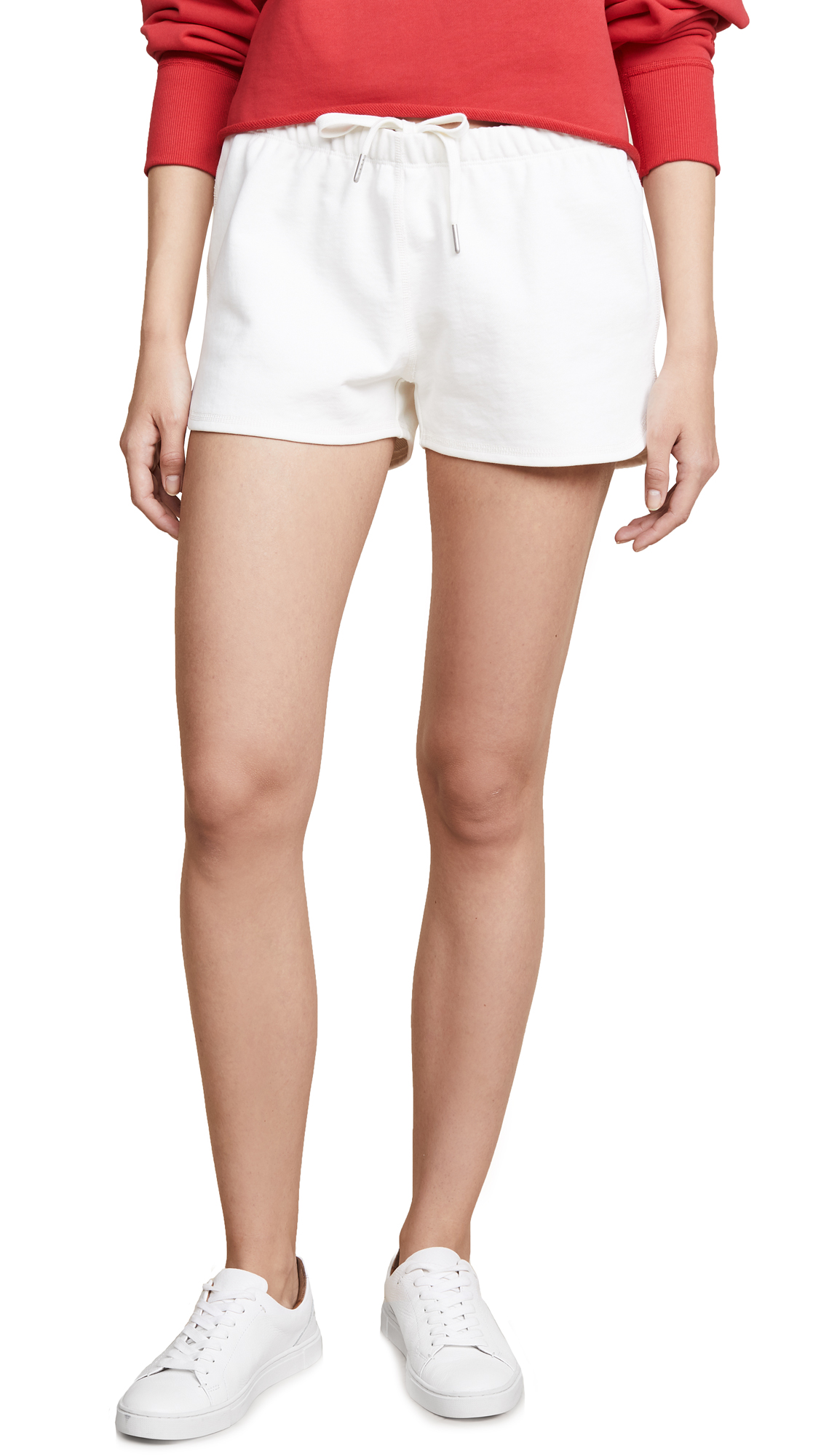 Rag & Bone/JEAN Rocky Shorts In Ivory