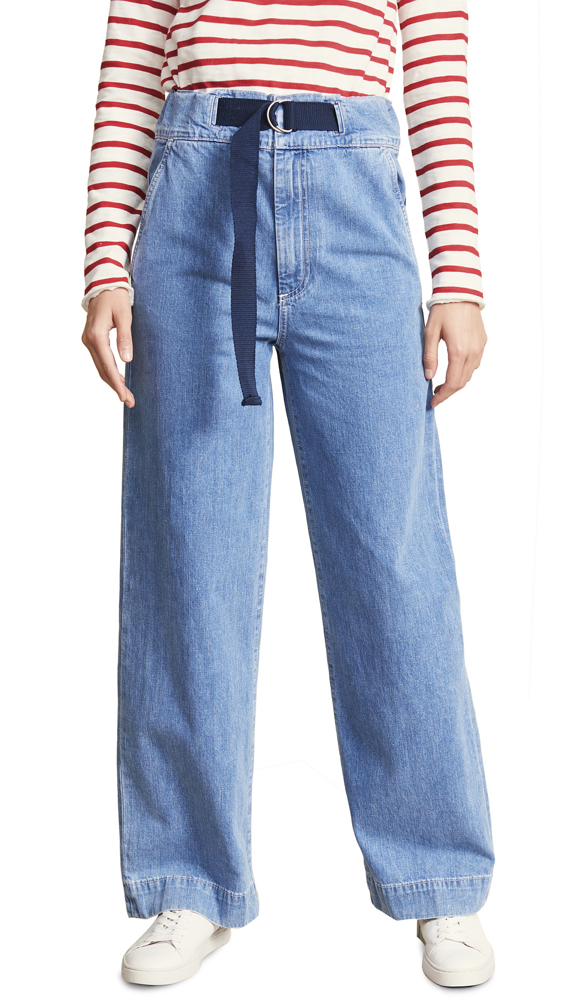 Rag & Bone/JEAN Massive Jeans In Crystal Wash