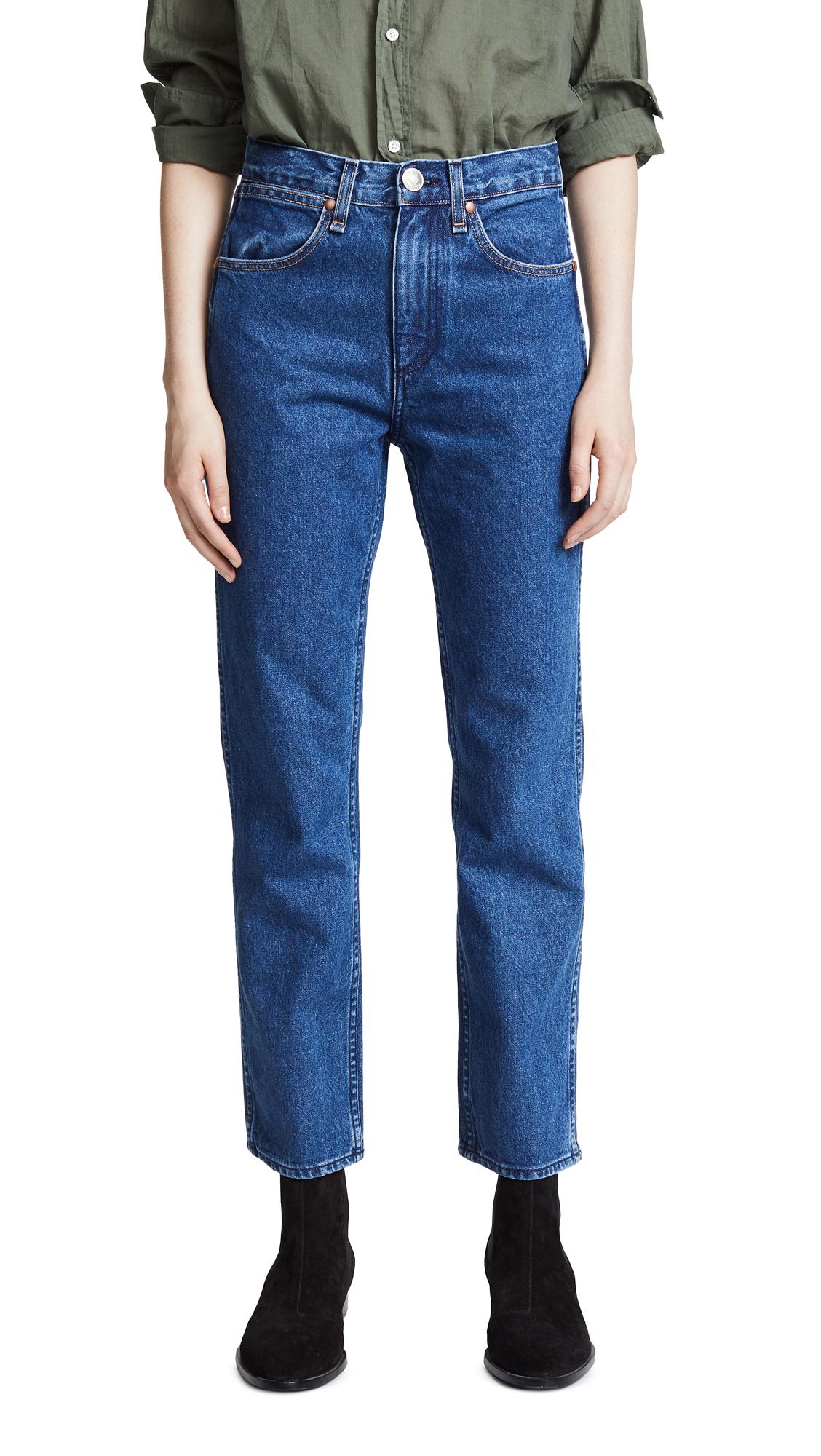 Rag & Bone/JEAN Vintage Straight Jeans In Vintage Bloo