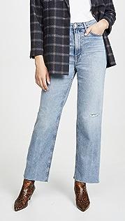 Rag & Bone/JEAN Прямые джинсы Ruth с очень высокой посадкой
