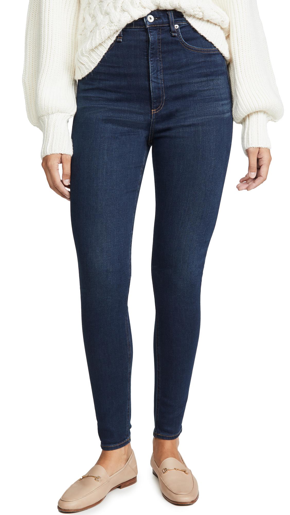 Buy Rag & Bone/JEAN online - photo of Rag & Bone/JEAN Jane Super High-Rise Skinny Jeans