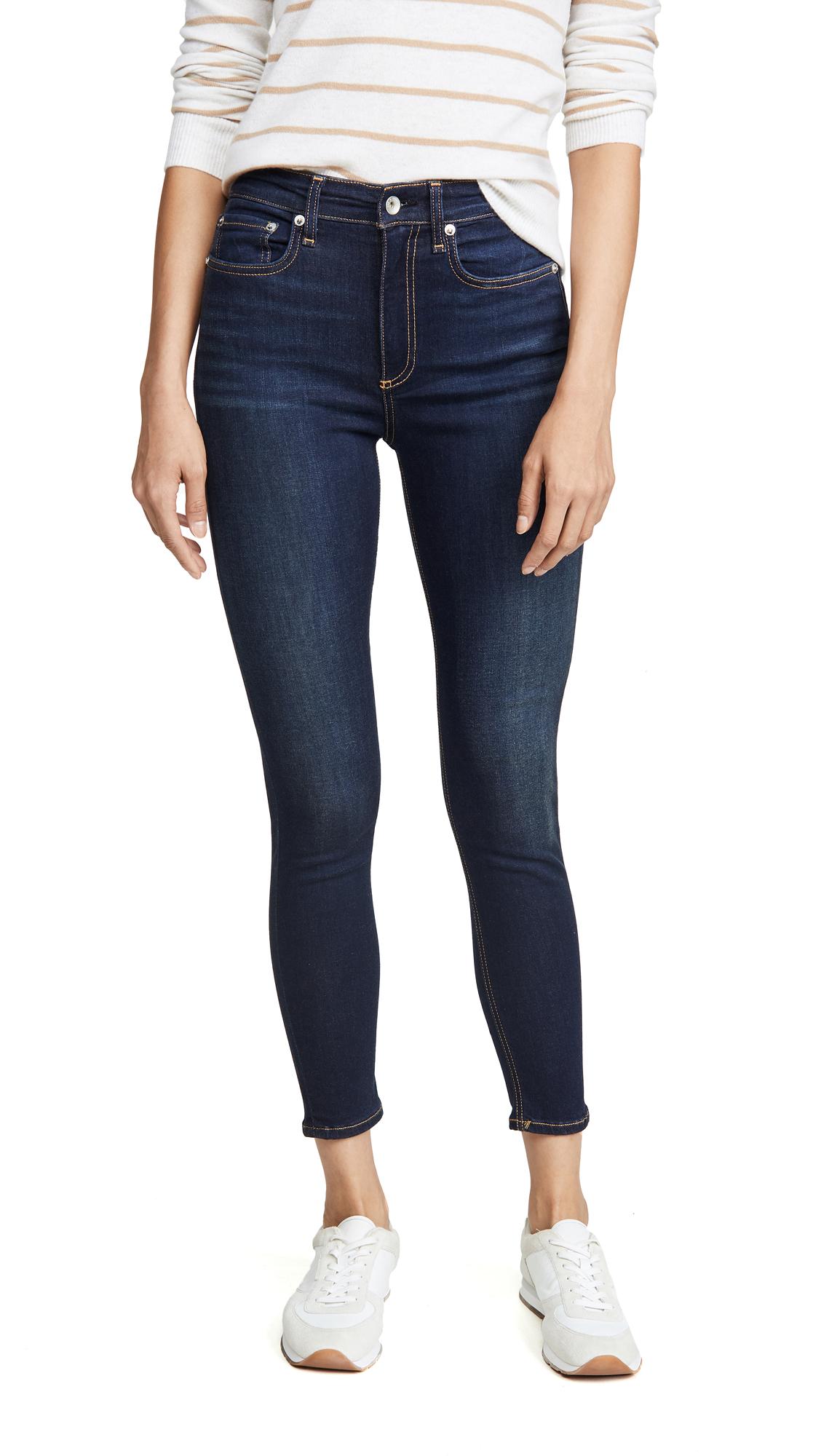 Buy Rag & Bone/JEAN online - photo of Rag & Bone/JEAN Nina High Rise Ankle Skinny Jeans