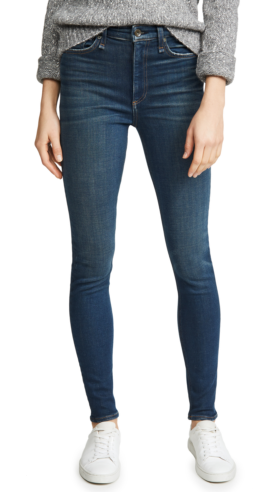 Buy Rag & Bone/JEAN online - photo of Rag & Bone/JEAN Nina High Rise Skinny Jeans