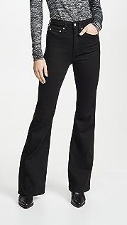 Rag & Bone/JEAN Расклешенные джинсы Jane с очень высокой посадкой