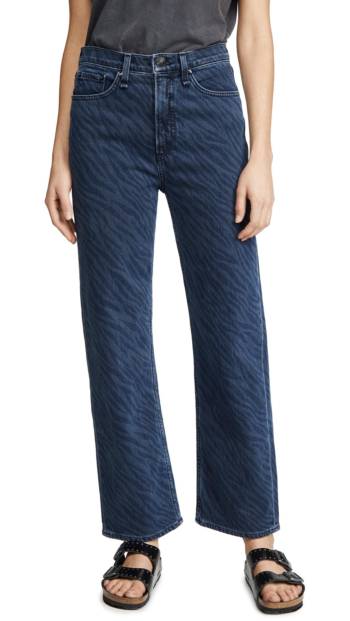 Buy Rag & Bone/JEAN online - photo of Rag & Bone/JEAN Ruth Super High-Rise Straight Jeans