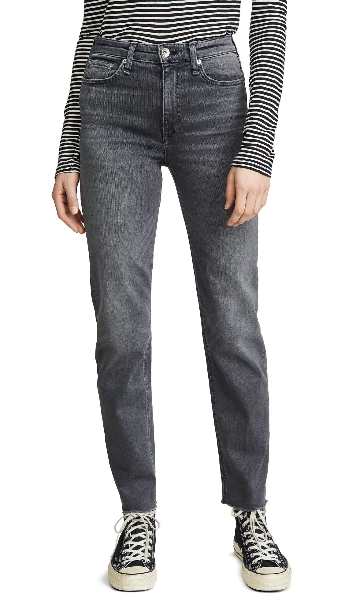 Buy Rag & Bone/JEAN online - photo of Rag & Bone/JEAN Nina High-Rise Cigarette Jeans