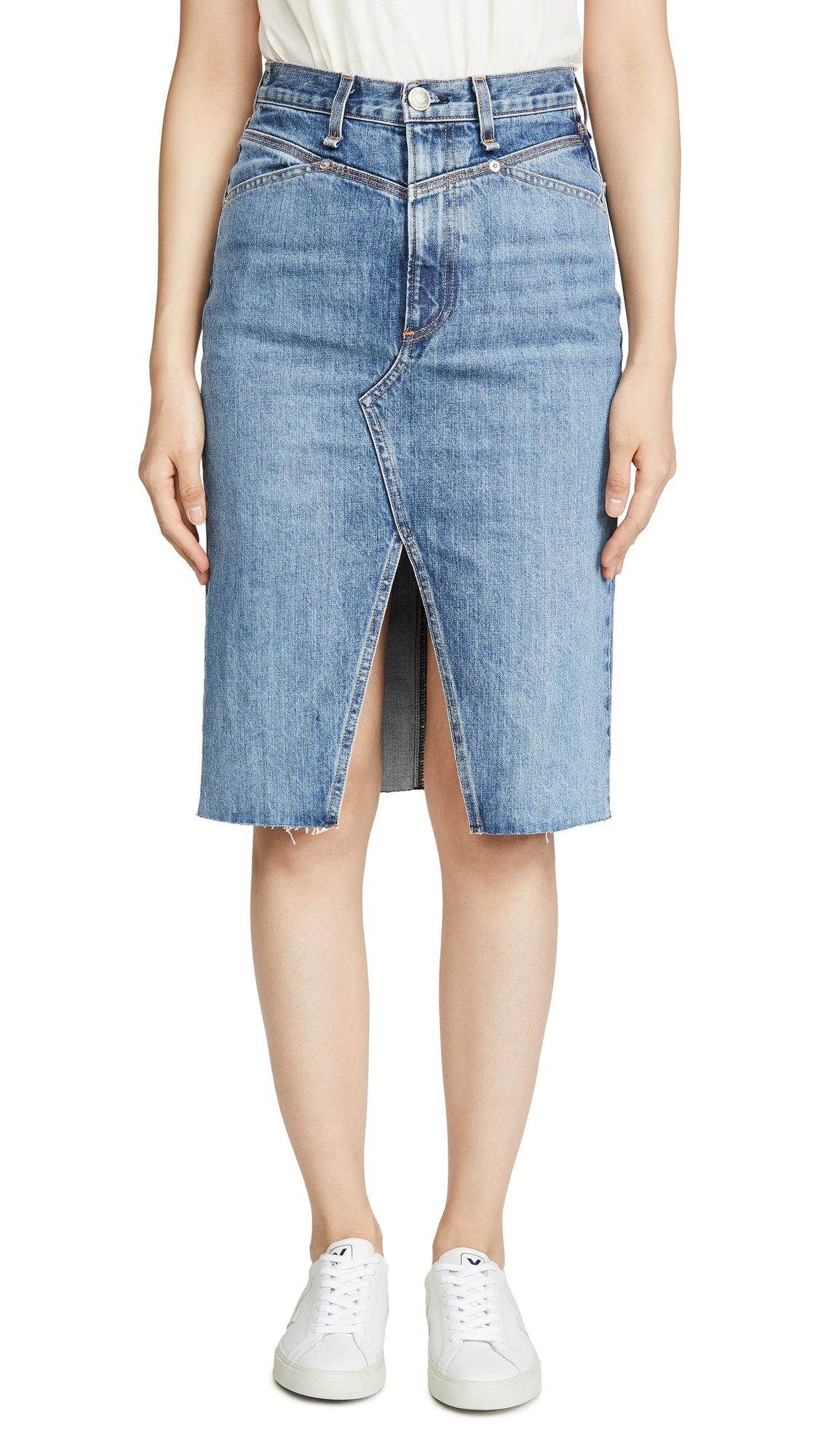 Buy Rag & Bone/JEAN online - photo of Rag & Bone/JEAN Super High-Rise Pencil Skirt