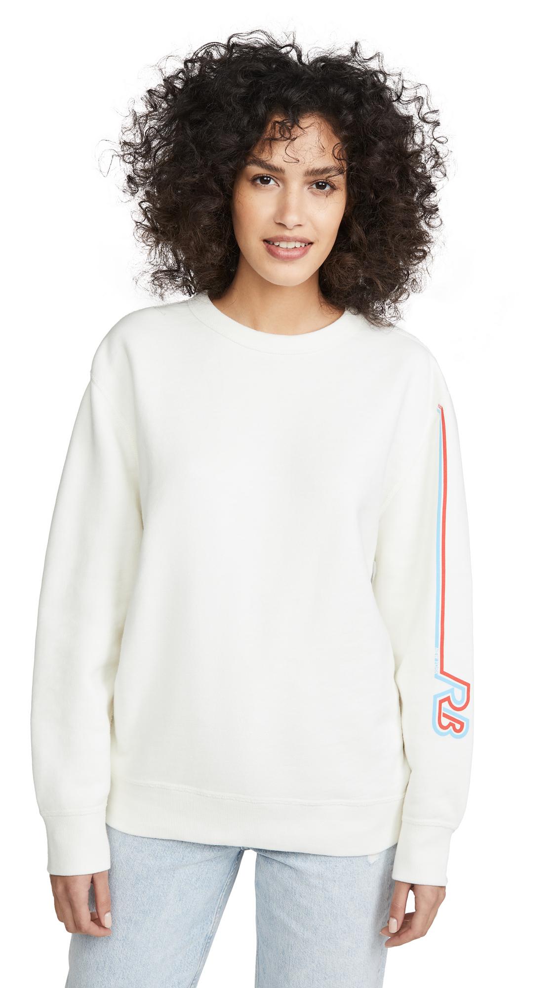 Buy Rag & Bone/JEAN online - photo of Rag & Bone/JEAN Racer Rb Sweatshirt
