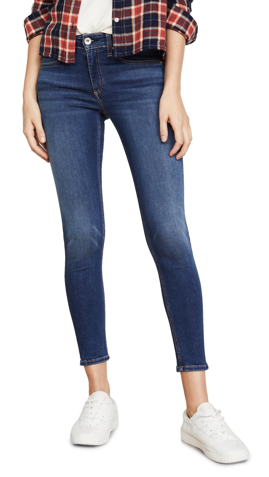 Buy Rag & Bone/JEAN online - photo of Rag & Bone/JEAN Cate Mid Rise Skinny Ankle Jeans