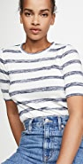 Rag & Bone/JEAN The Knit Striped Slim Tee
