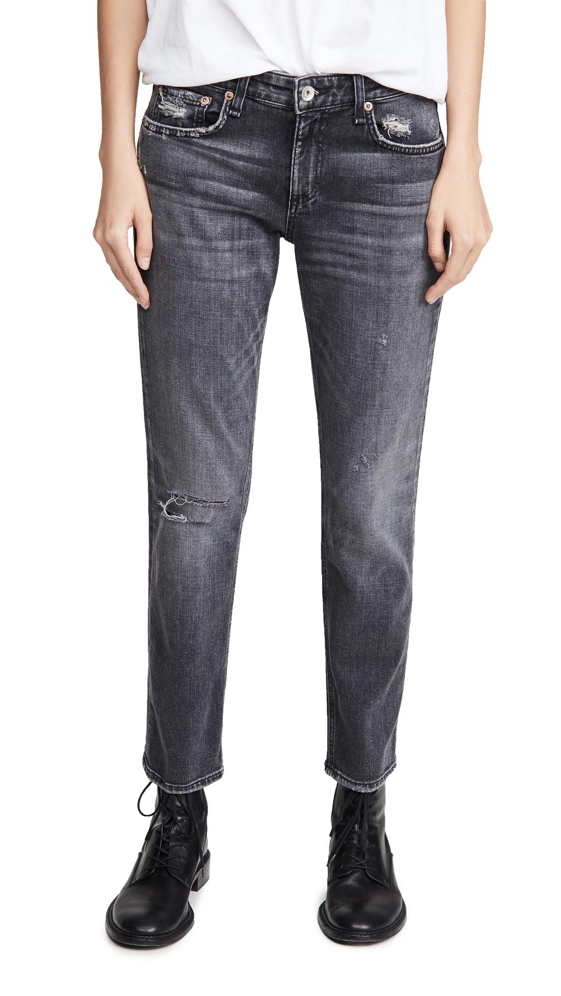 Buy Rag & Bone/JEAN online - photo of Rag & Bone/JEAN Dre Low-Rise Slim Boyfriend Jeans