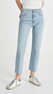 Rag & Bone/JEAN Nina High Rise Ankle Cigarette Jeans