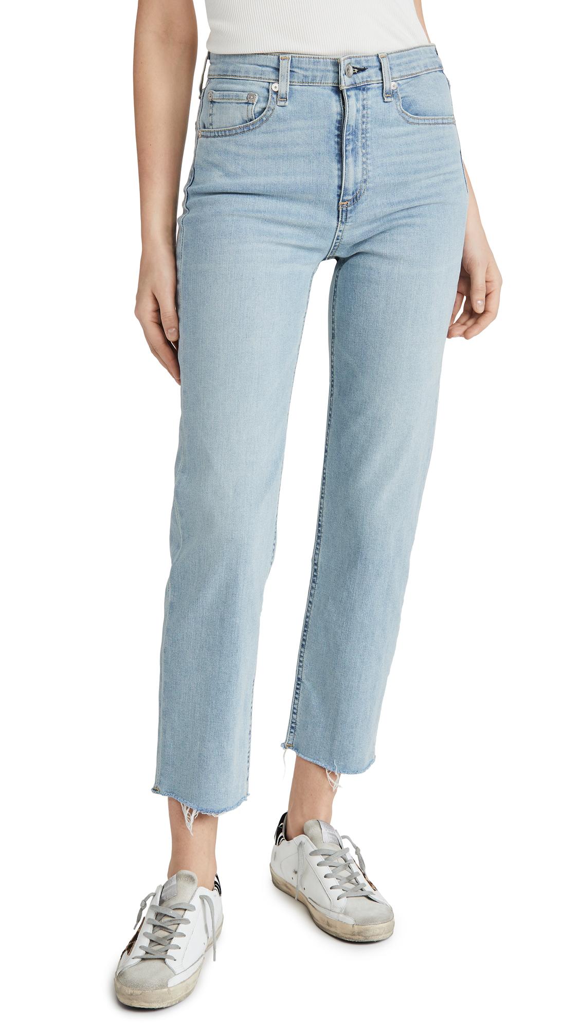 Buy Rag & Bone/JEAN online - photo of Rag & Bone/JEAN Nina High Rise Ankle Cigarette Jeans