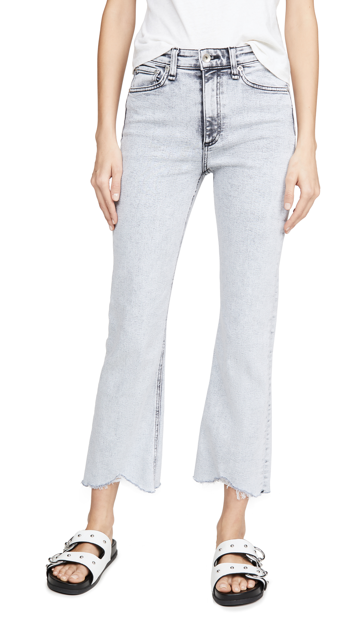 Buy Rag & Bone/JEAN online - photo of Rag & Bone/JEAN Nina High Rise Ankle Flare Jeans