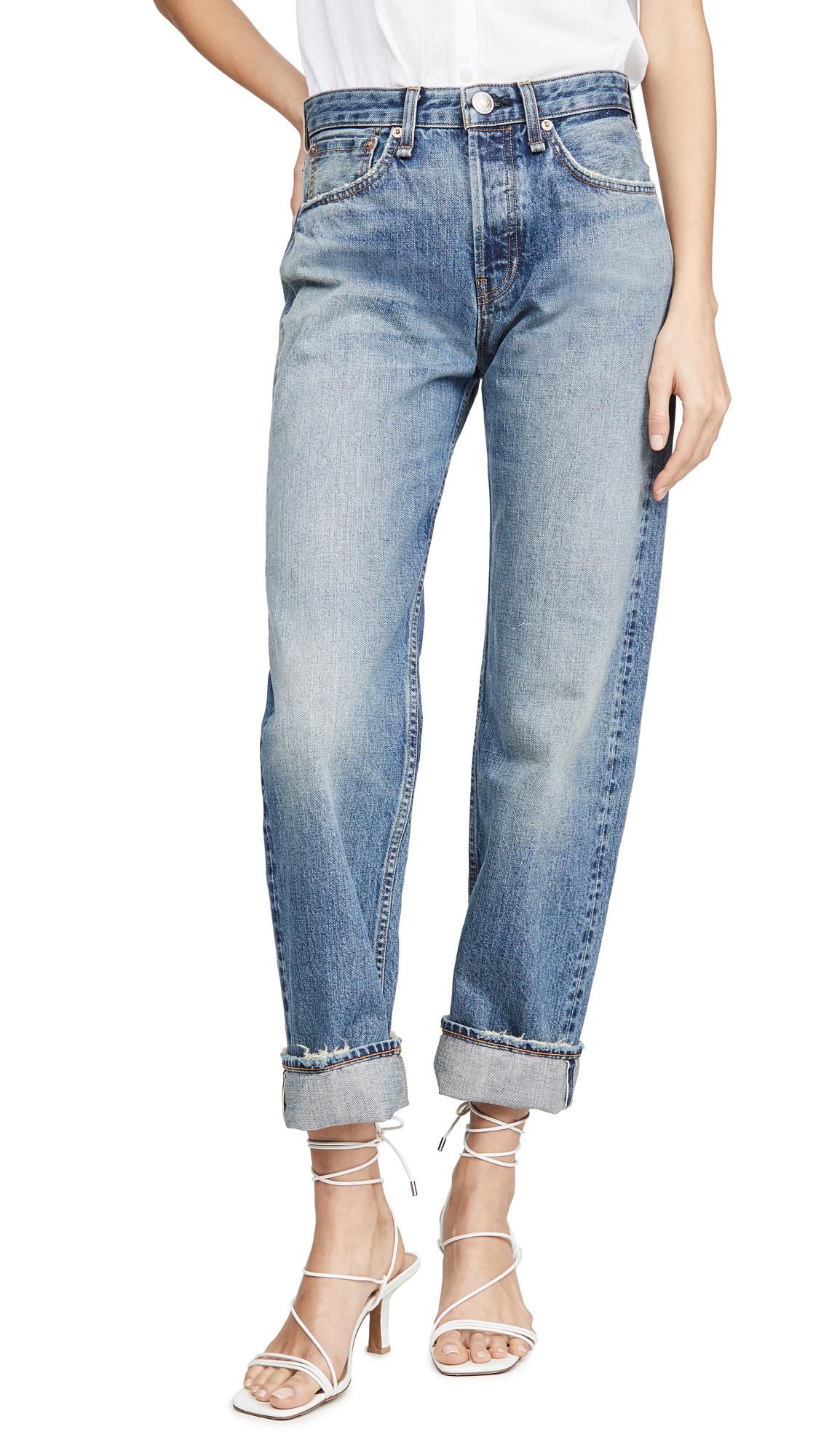 Buy Rag & Bone/JEAN online - photo of Rag & Bone/JEAN Maya High Rise Ankle Straight Jeans