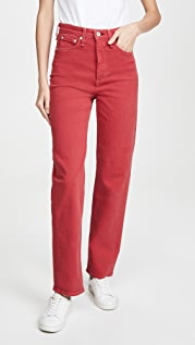 Rag & Bone/JEAN Jane Super High Rise Cigarette Jeans