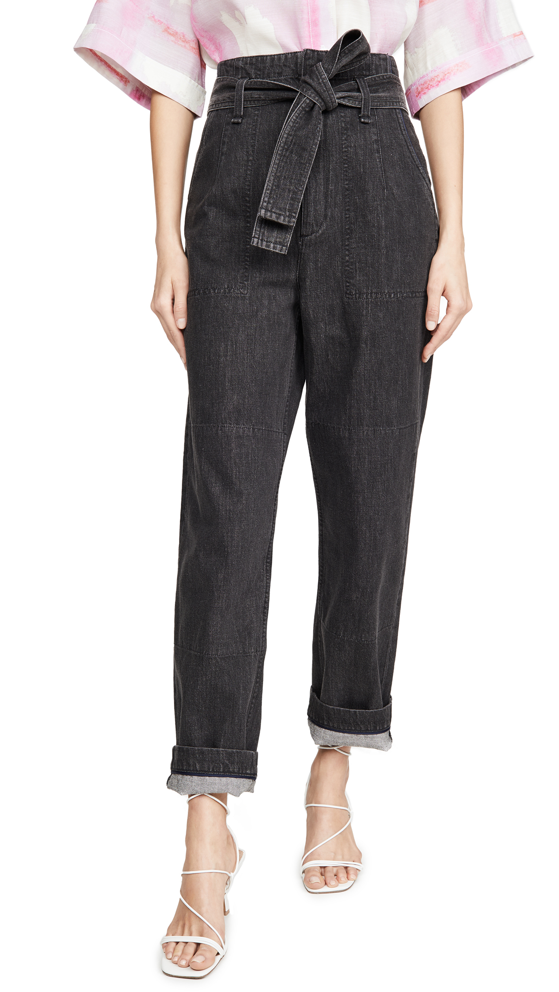 Buy Rag & Bone/JEAN online - photo of Rag & Bone/JEAN Super High Rise Darted Jeans
