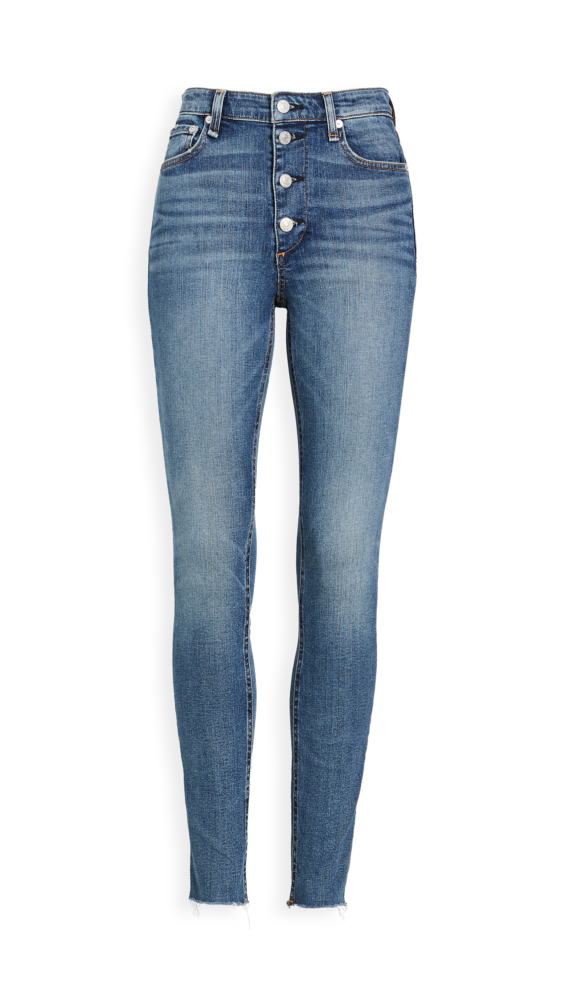 Buy Rag & Bone/JEAN online - photo of Rag & Bone/JEAN Nina High-Rise Skinny Jeans