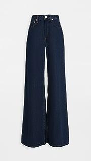 Rag & Bone/JEAN Ruth Super High-Rise Ultra Wide Leg Jeans