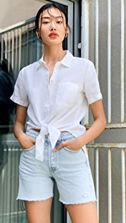 Rag & Bone/JEAN Maya 高腰中腰短裤