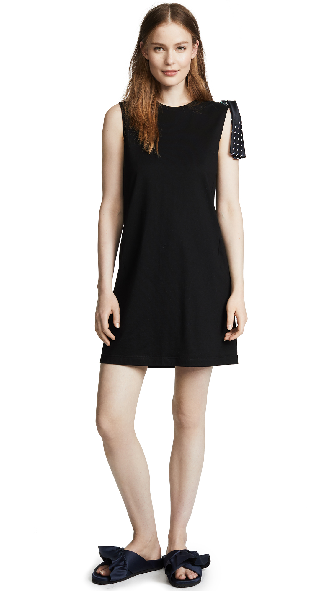 RHIE Danny Sleeveless Dress with Scarf Knot online sales