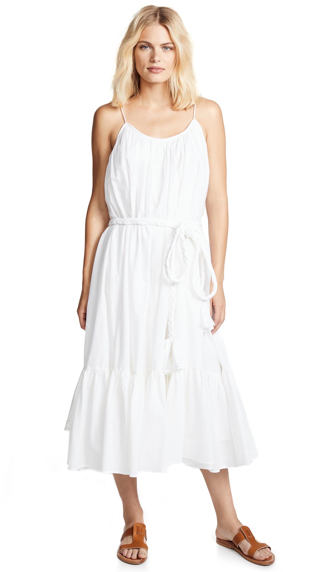 Rhode Resort Lea Dress In White