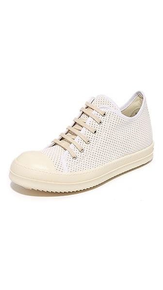 Rick Owens DRKSHDW Low Top Sneakers