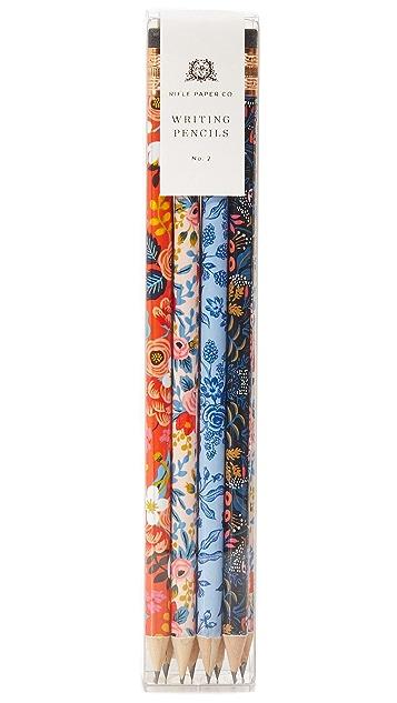Rifle Paper Co Floral Pencil Set