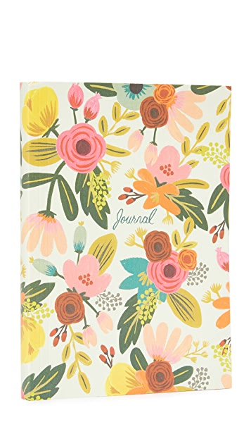 Rifle Paper Co Mint Floral Journal