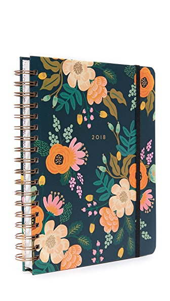 Rifle Paper Co 2018 Lively Spiral Bound Planner