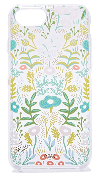 Rifle Paper Co Clear Tapestry iPhone 6 / 6s / 7 Case - Clear Multi