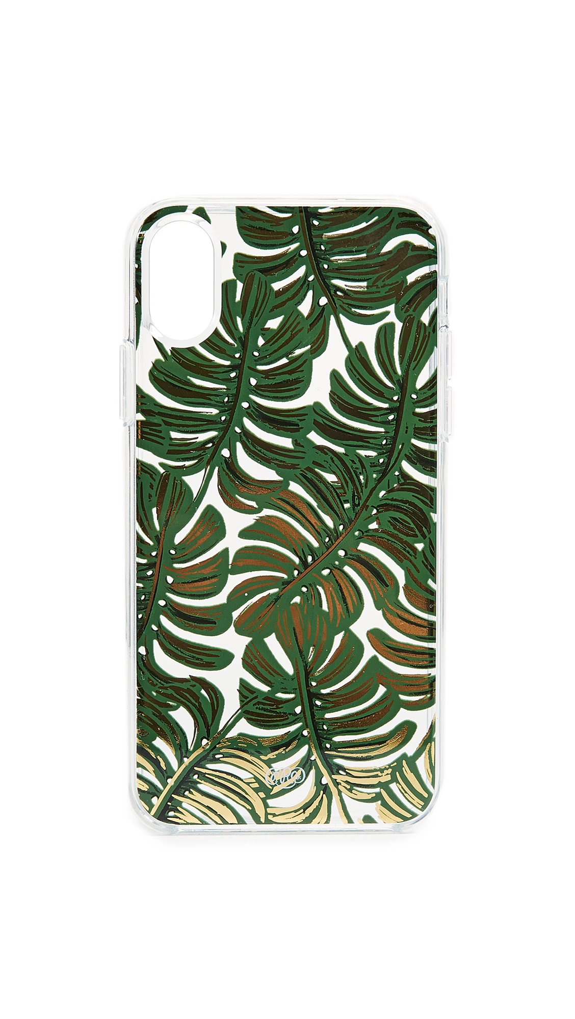 Rifle Paper Co Clear Monstera iPhone X Case