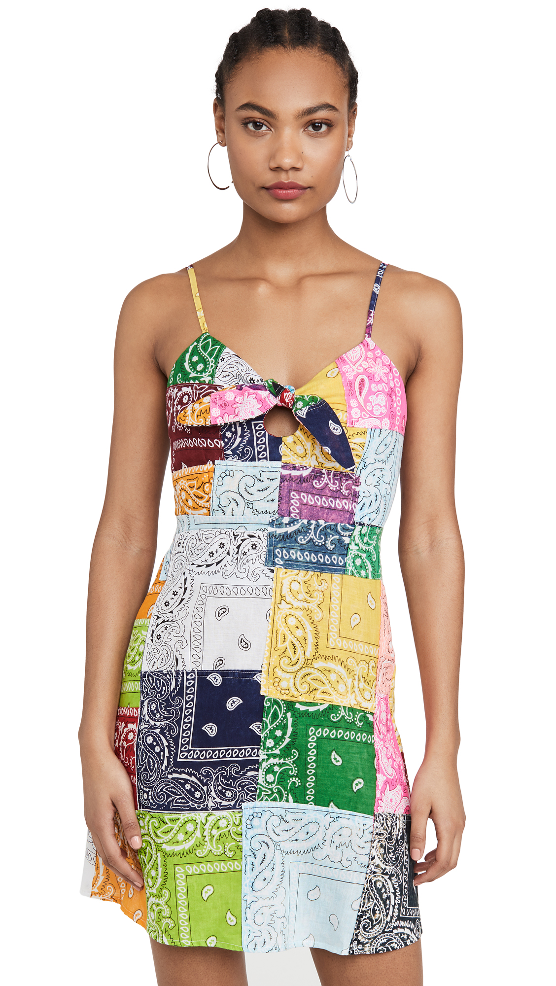 Buy Riley Patchwork Mini Dress online beautiful Riley Clothing, Dresses