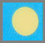 синий/желтый горошек