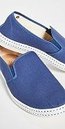 Rivieras Classic 10 Bleu de Travail Slip On Shoes