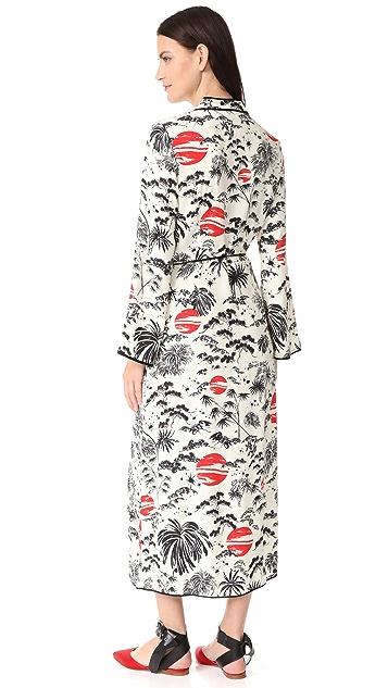 RIXO London Cindy Wrap Dress