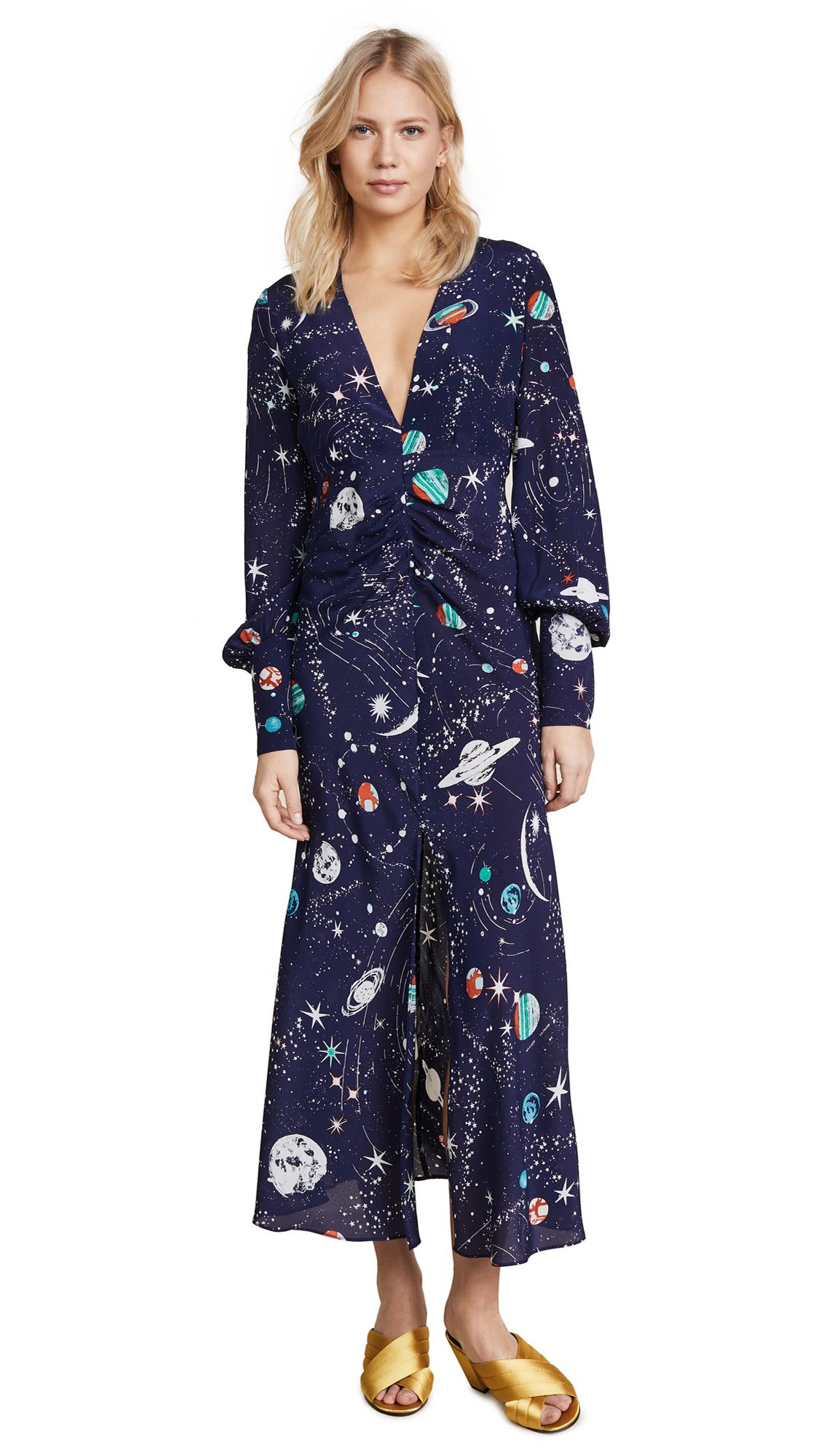 RIXO London Maressa Dress - Cosmic Constellation