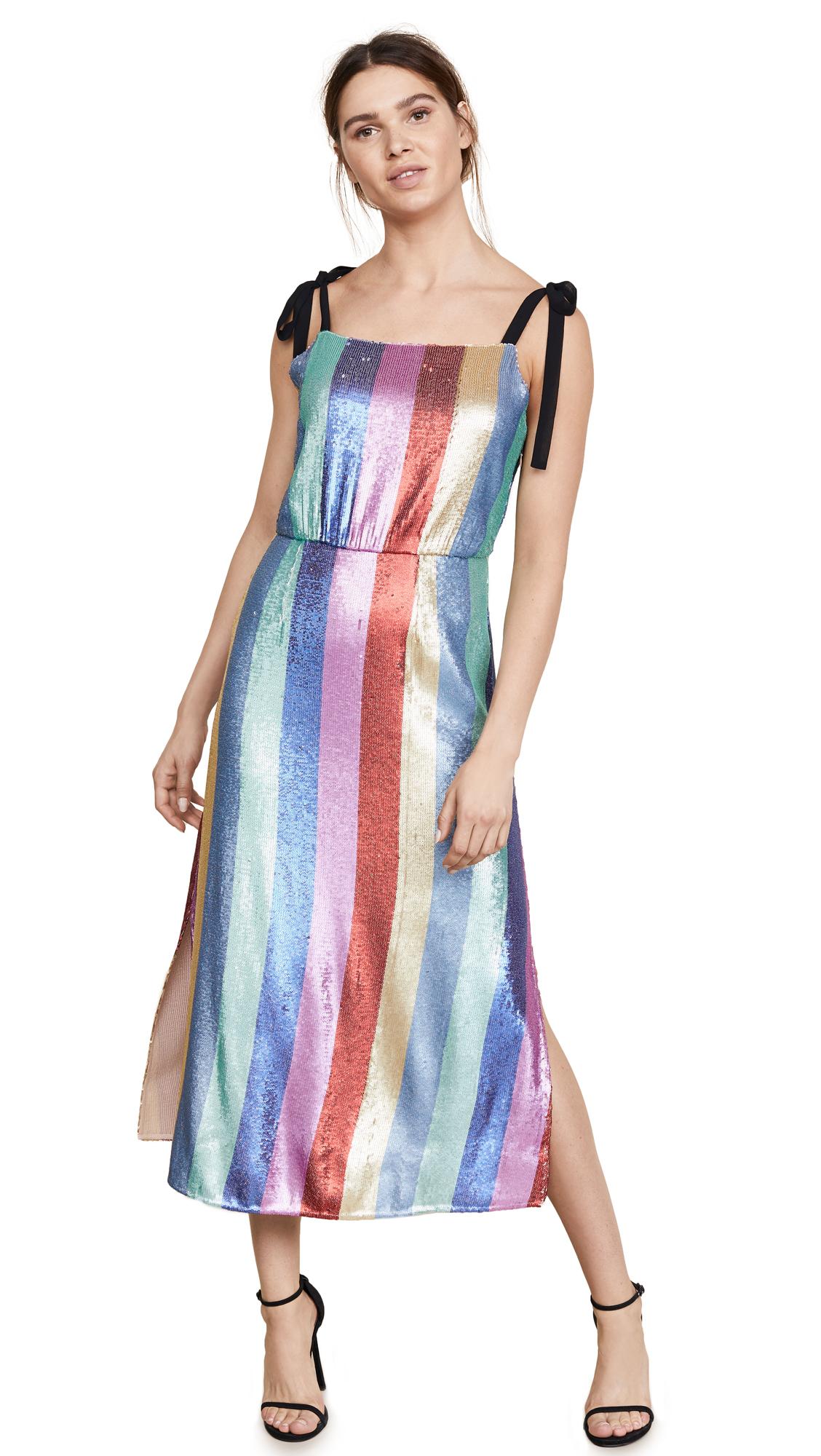 RIXO London Tessa Sequin Dress