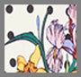 英国花卉印花斑点