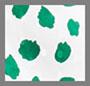 Tulip Spot White Green