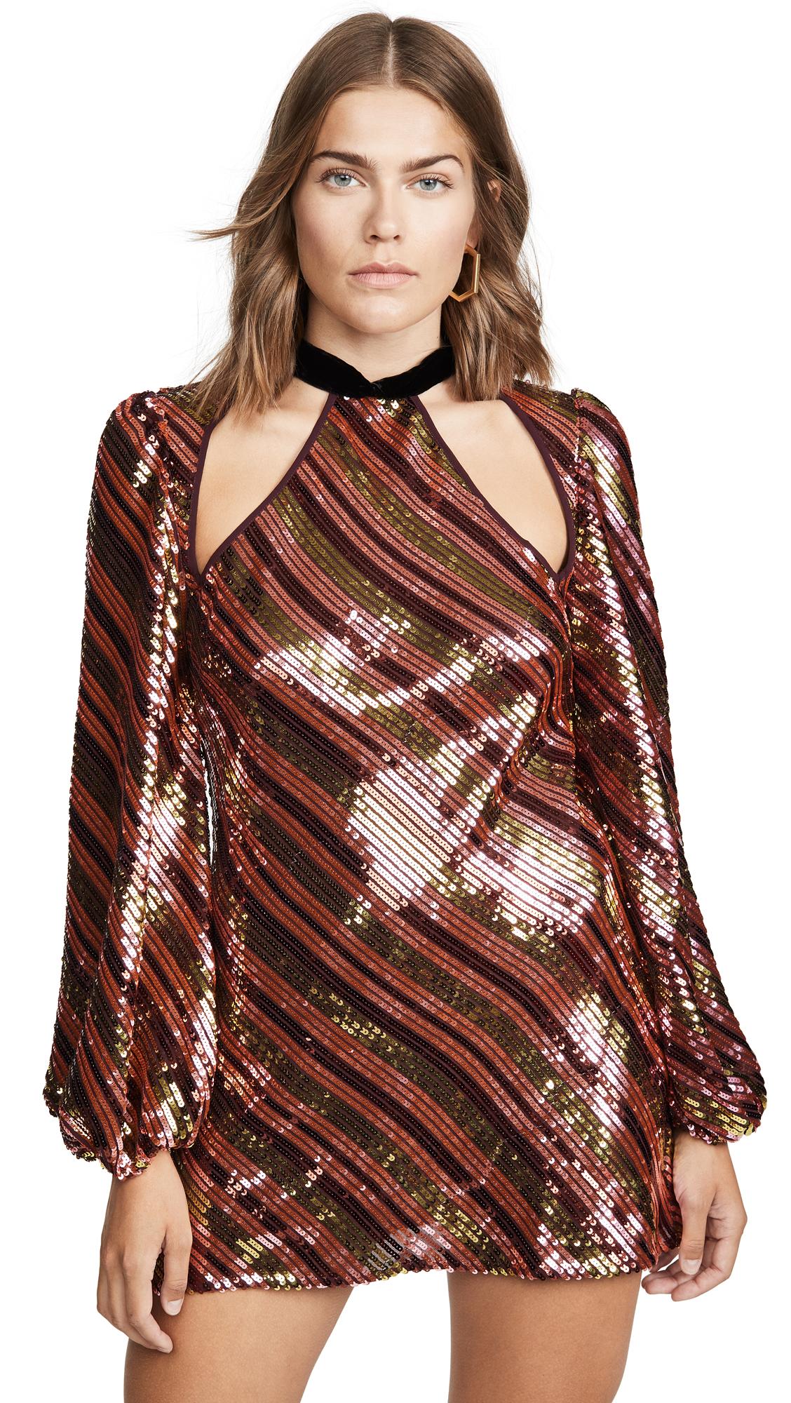 Buy RIXO Harriet Sequin Dress online beautiful RIXO Clothing, Dresses