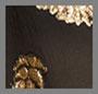 真丝金银丝棕榈金色和黑色
