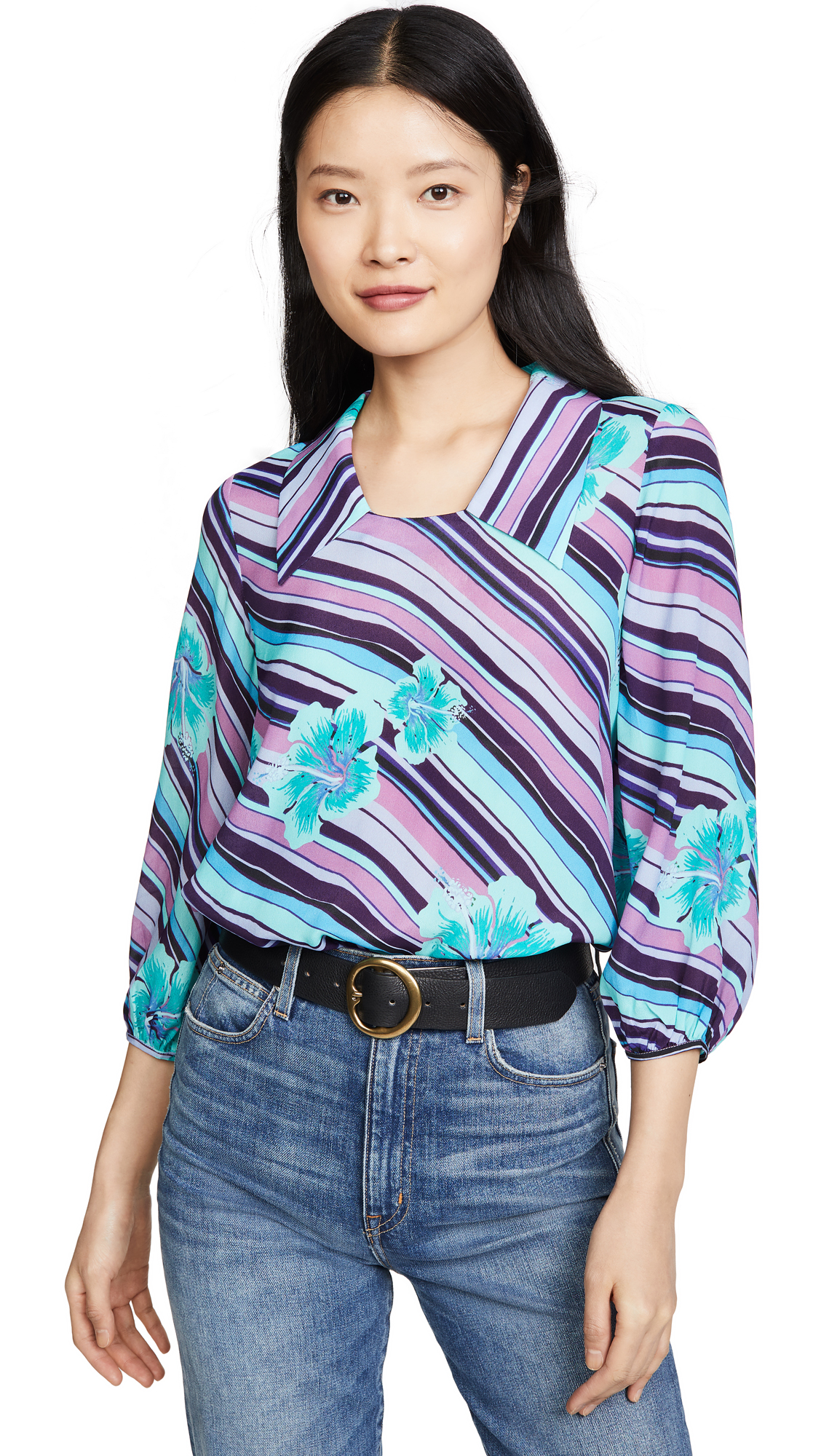 Buy RIXO online - photo of RIXO Jessie Blouse