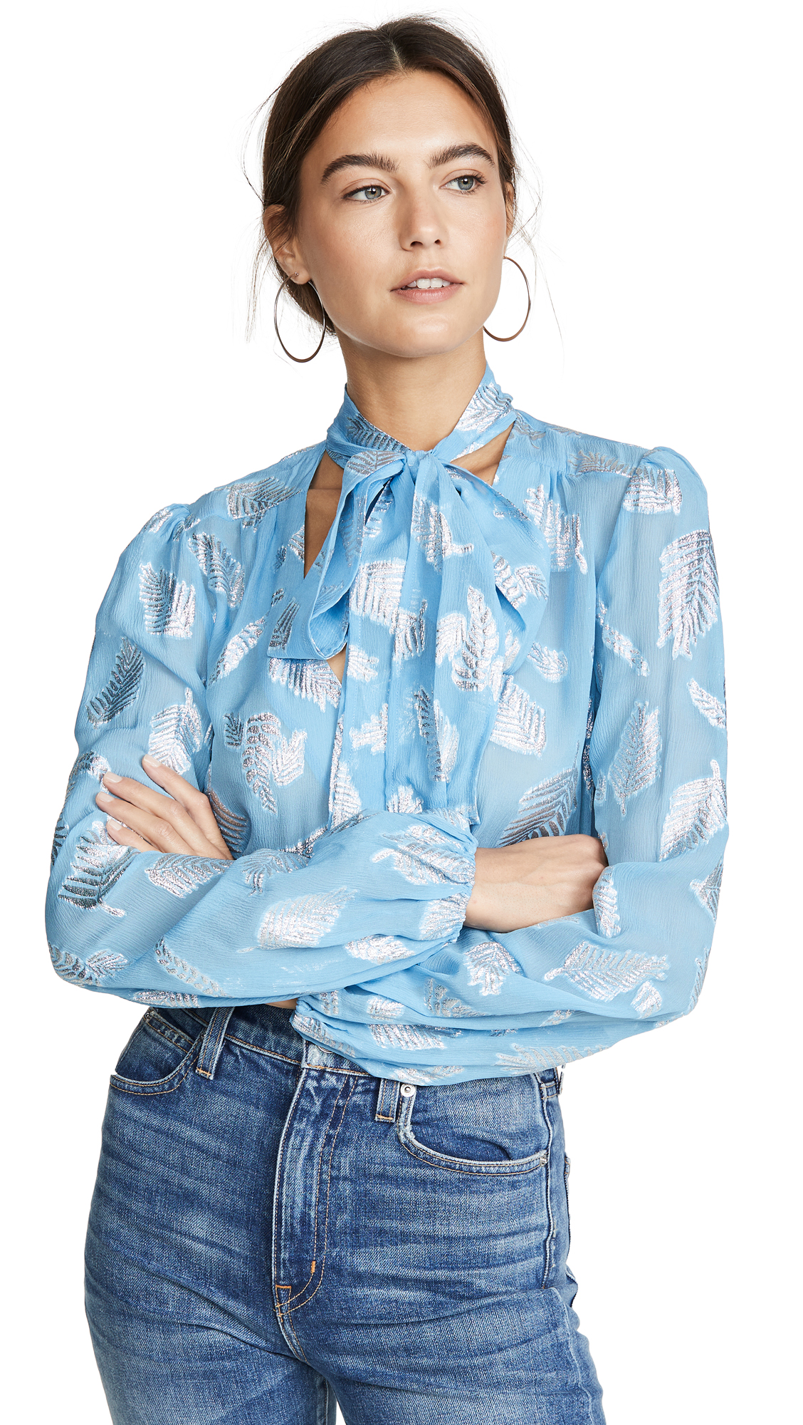 Buy RIXO online - photo of RIXO Moss Blouse