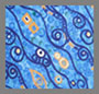 Klimt Wave Eye Blue