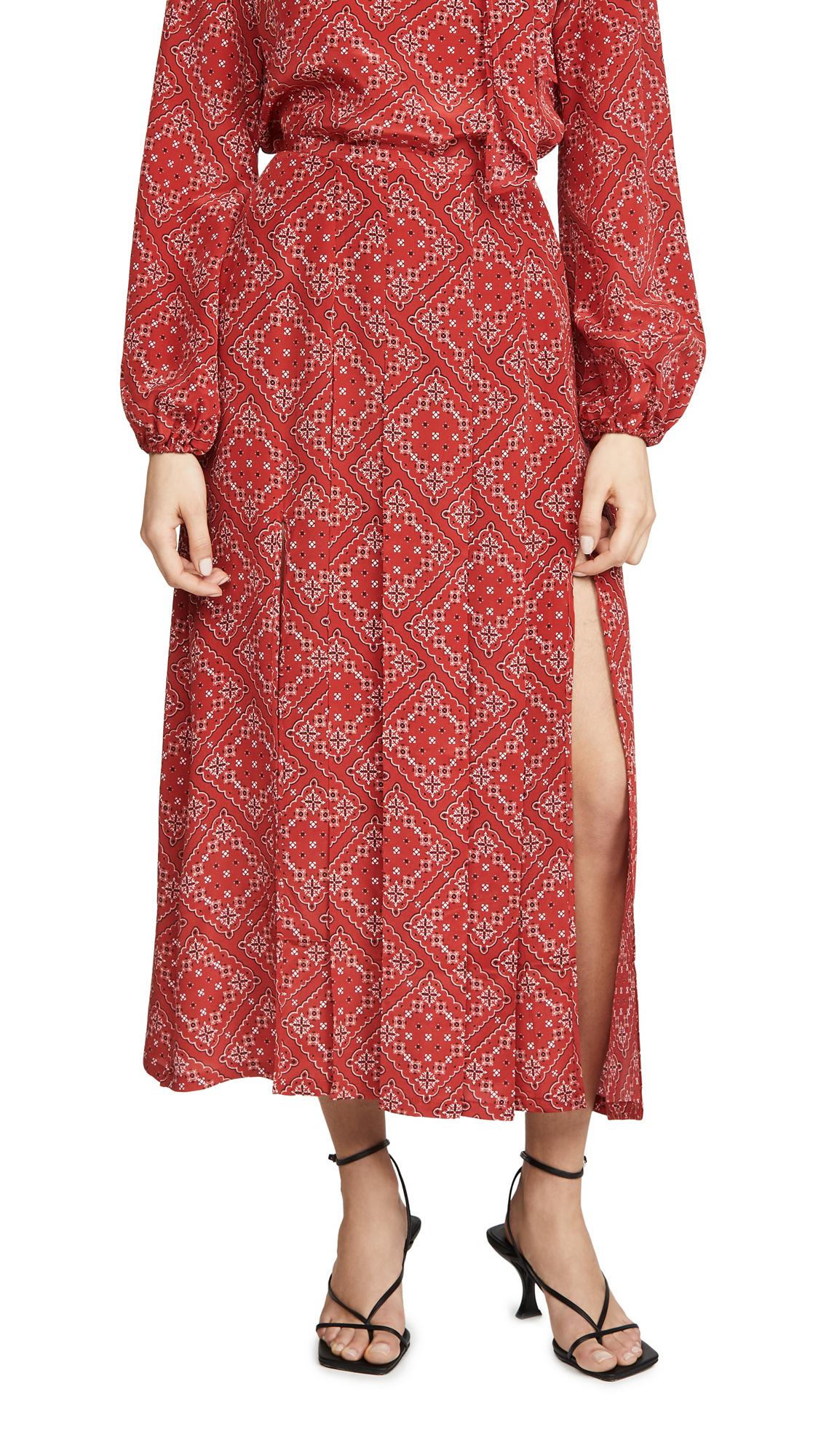 Buy RIXO online - photo of RIXO Georgia Skirt