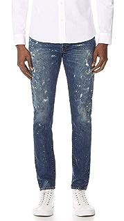 Polo Ralph Lauren Sawyer Paint Splatter Jeans