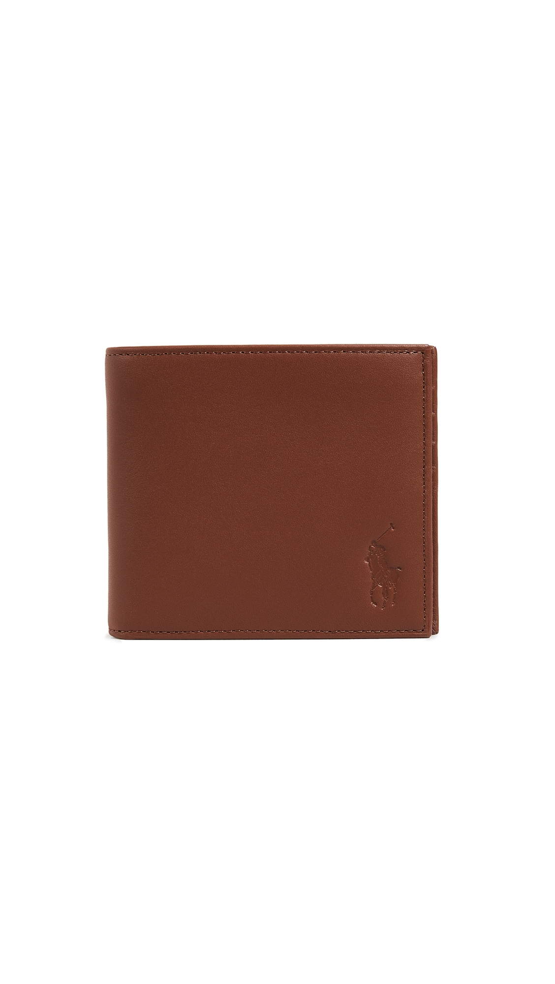 POLO RALPH LAUREN SMOOTH LEATHER INTERIOR MOTIF WALLET