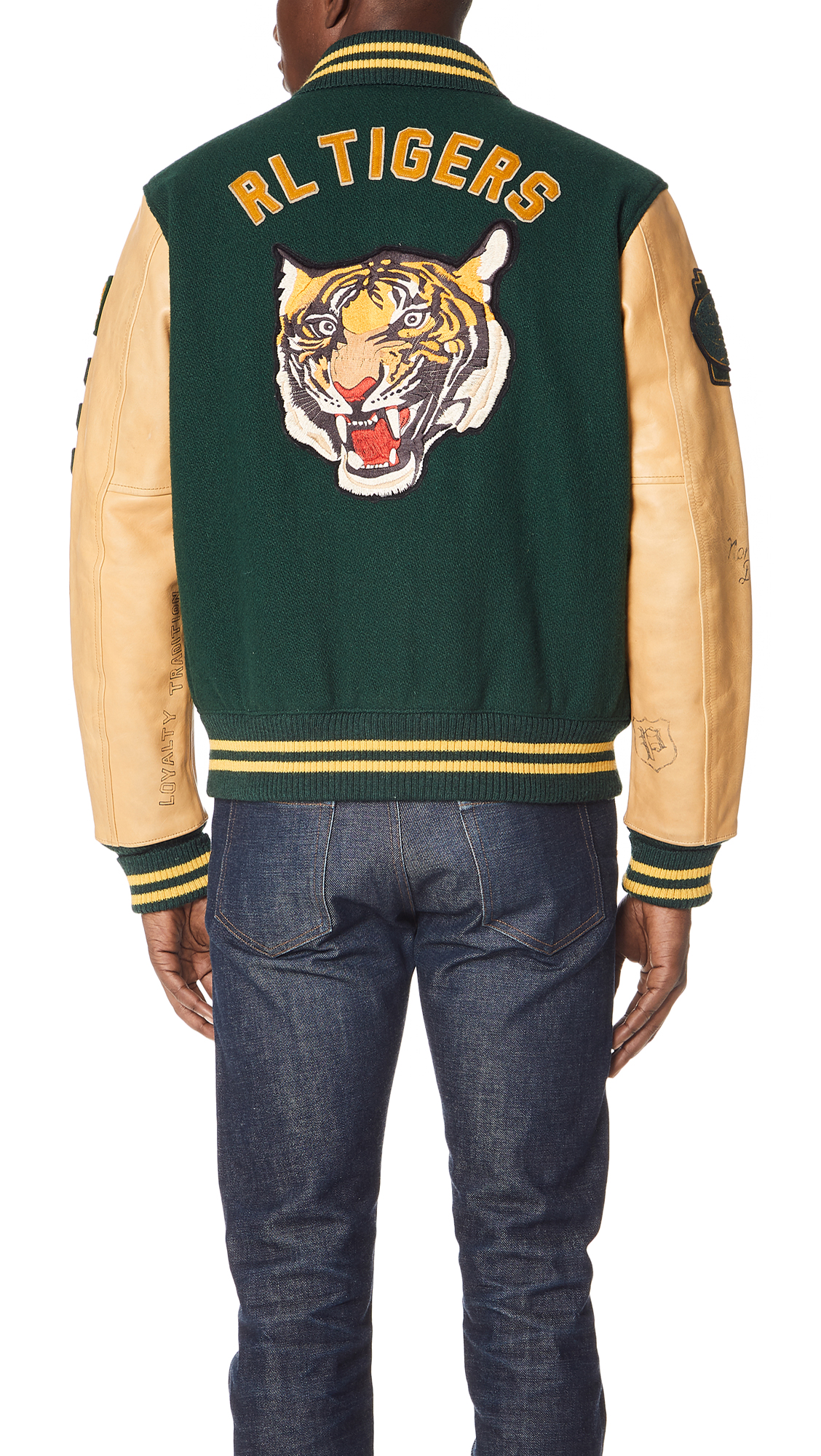 Polo Ralph Lauren Letterman Jacket  16bb3d0f0ea